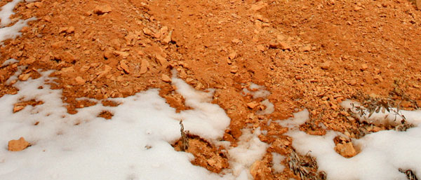 Effects of erosion in Bryce Canyon National Park