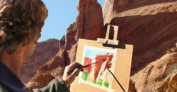 Painting Art - Artist - Utah