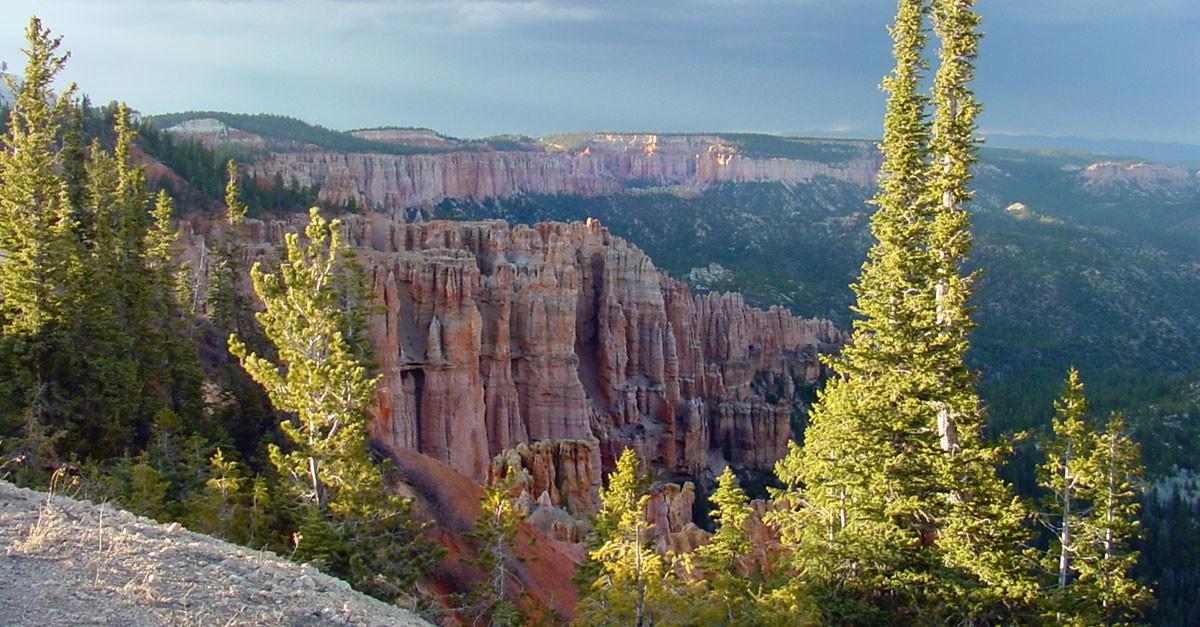 bryce canyon views on eastern rim