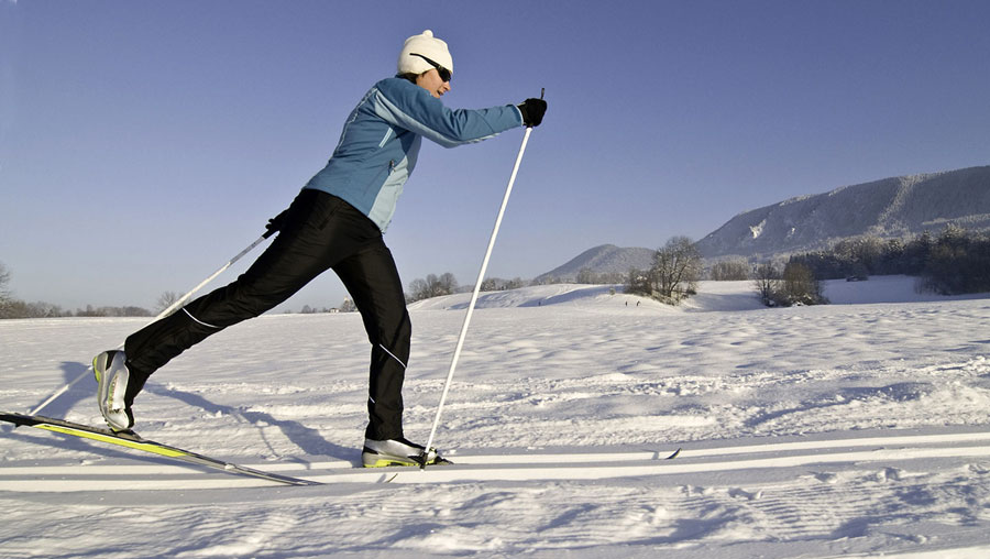 Cross Country skiing - Bryce Canyon