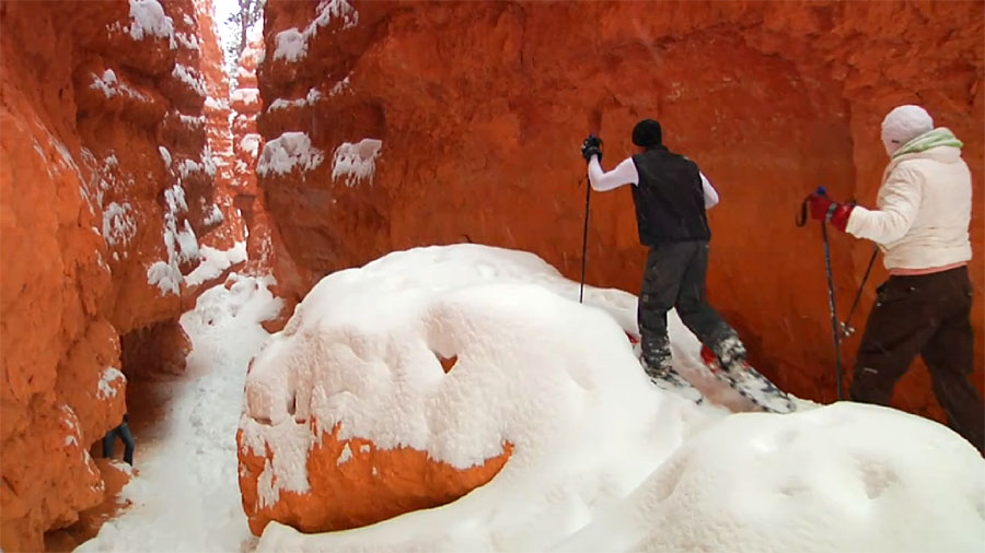 Snowshoeing - Bryce Canyon