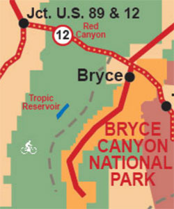 Tropic Reservoir Map