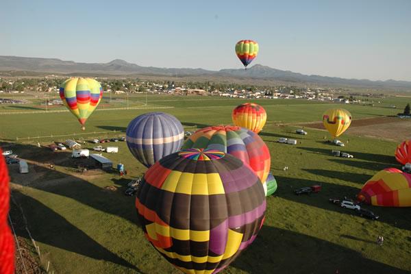 Panguitch Utah Balloon Festival