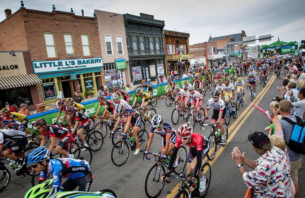 Tour of Utah Cycling Race