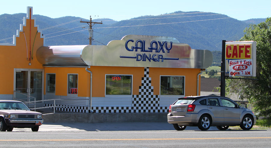 Hatch, Utah - Galaxy Diner