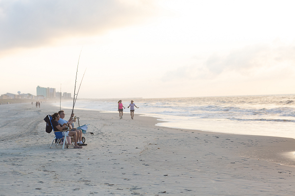 Take a winter vacation to North Myrtle Beach.