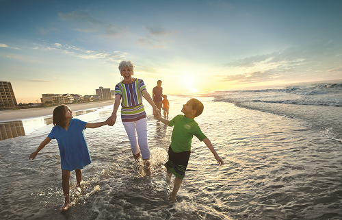 Spend Mother's Day Weekend in North Myrtle Beach.