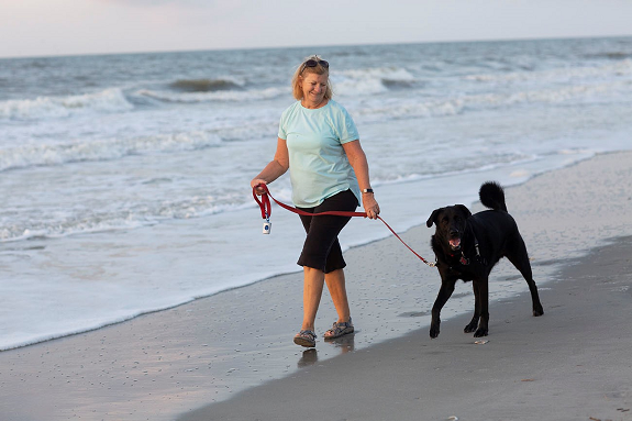 Bring your dog to the beach this fall!