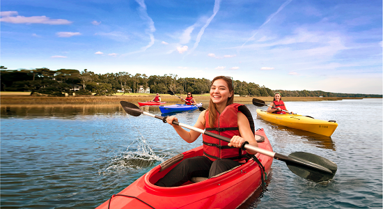Enjoy outdoor activities this fall in North Myrtle Beach.