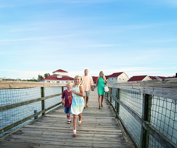 Dinner at Barefoot Landing is the perfect place after a day full of fun!