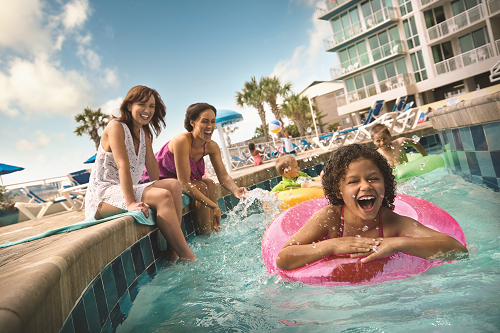 North Myrtle Beach is a family-friendly alternative for a weekend beach trip.