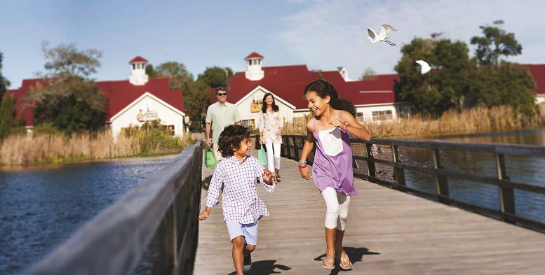 Shop, dine and play at North Myrtle Beach's Barefoot Landing.