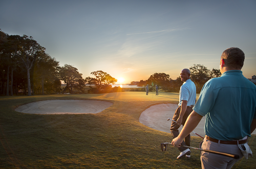 Play a round of golf in North Myrtle Beach.