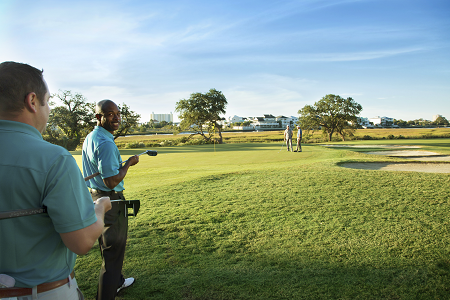 Your groom can golf in North Myrtle Beach before your destination wedding.