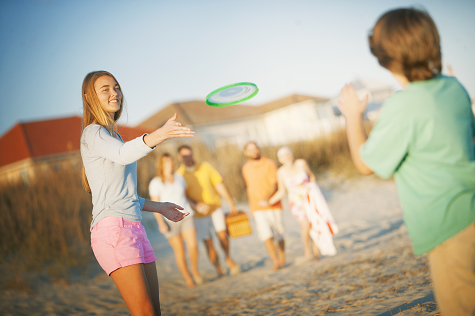 We've put together a list of beach games for kids perfect for your trip to North Myrtle Beach.