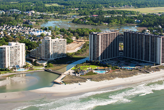 North Beach Plantation is a beautiful place to stay in the Myrtle Beach area.
