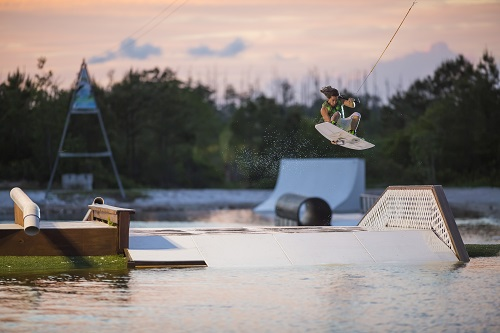 Shark Wake Park is located in the North Myrtle Beach Sports Park.