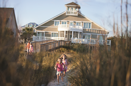 Rent a beach home in North Myrtle Beach for your family reunion.