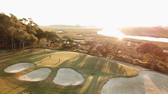 13th hold of Tidewater Golf Club in North Myrtle Beach