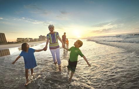 Walk along wide, beautiful beaches.