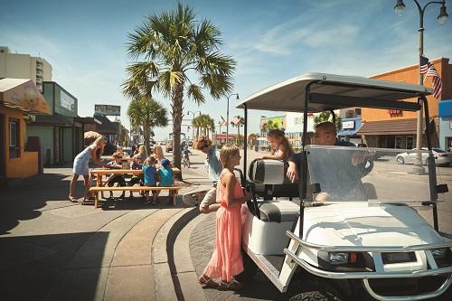 Explore Main Street in North Myrtle Beach.