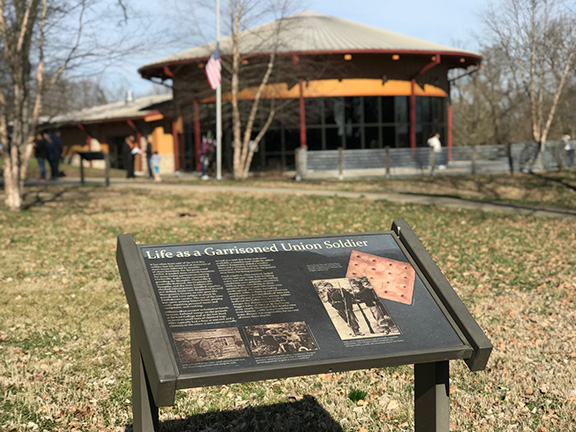 Fort Defiance Civil War Park Visitor Center