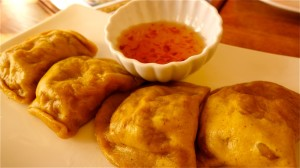 Curry Potstickers