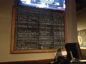 Drink Board at the Pint-3