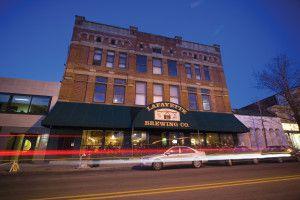 Lafayette Brewing Company- Outside