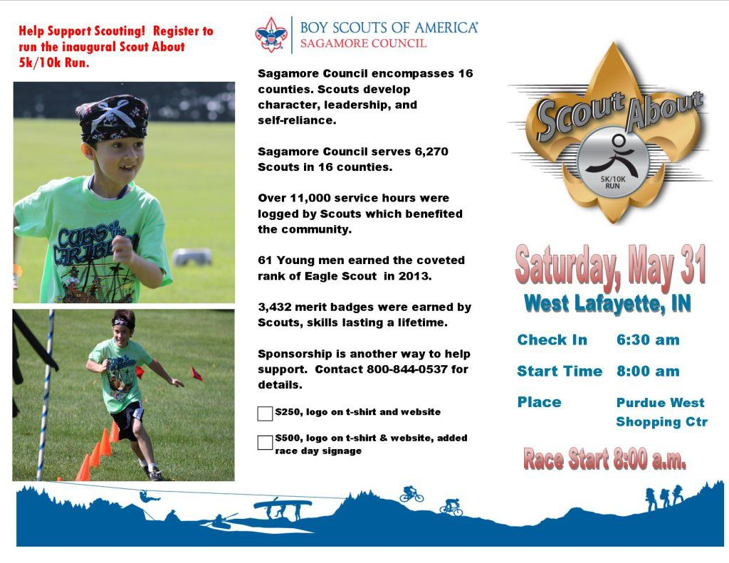Scout About Run Flyer 1