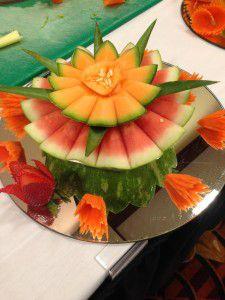 Beautifully created fruit platter!