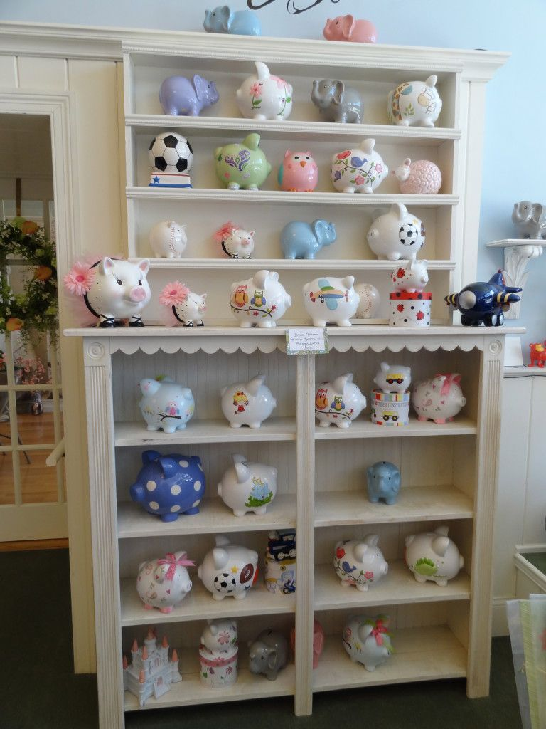 Piggy Banks at Two Tulips
