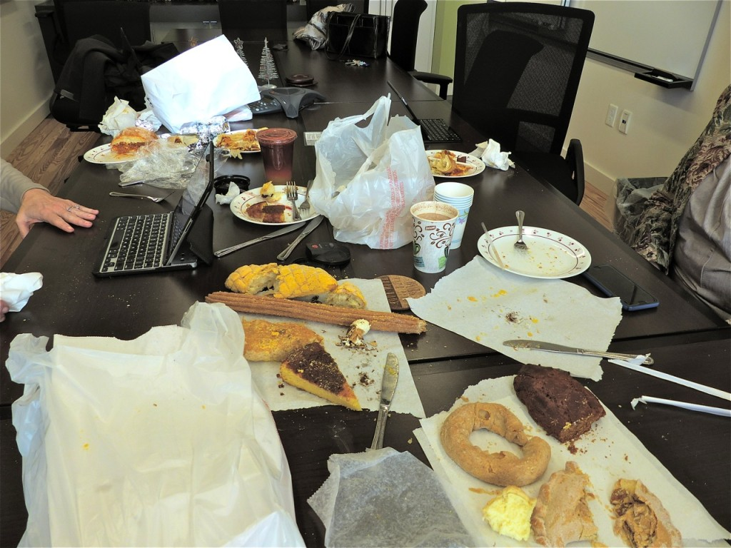 Our mess at Lafayette City Hall Annex!