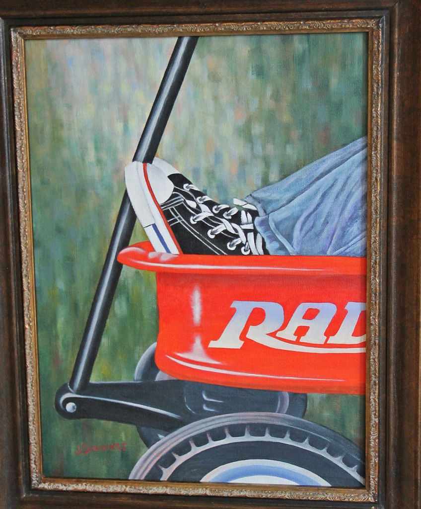 First Wheels from the Jasper County Art League.