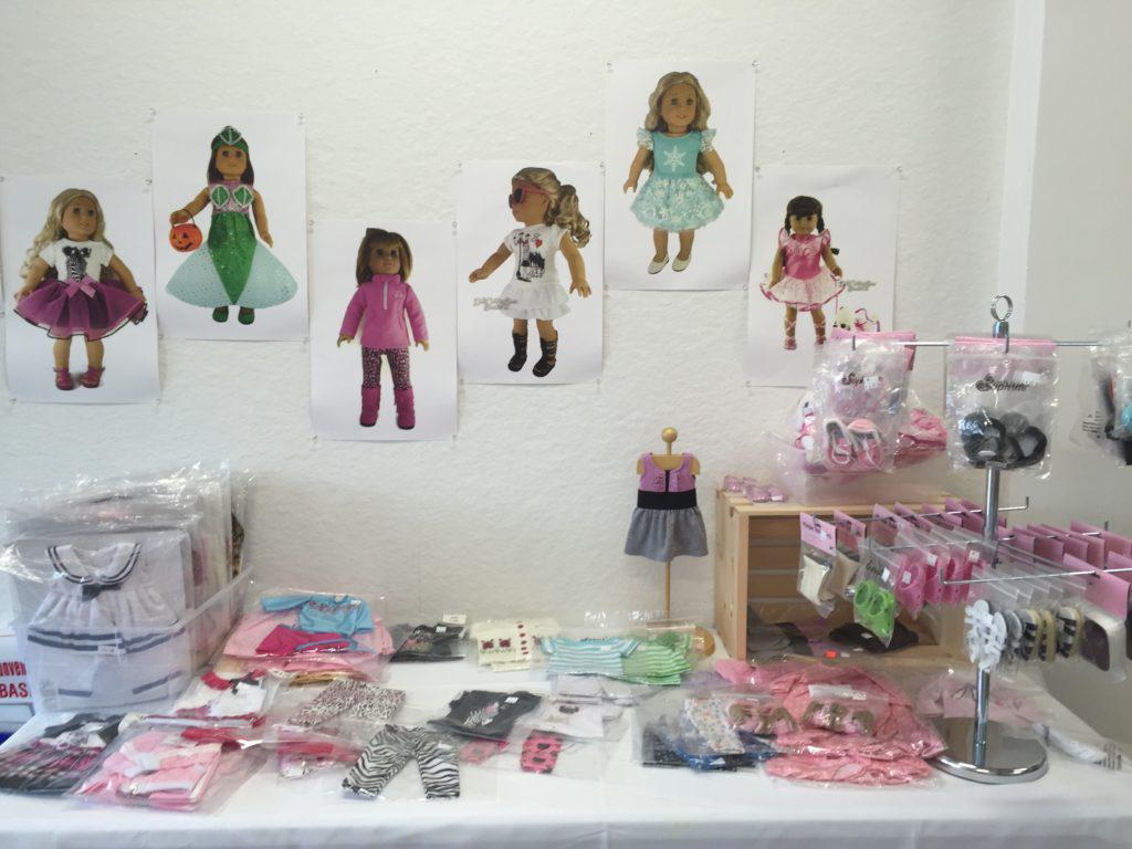 Doll accessories at Peace, Love and Daisies!