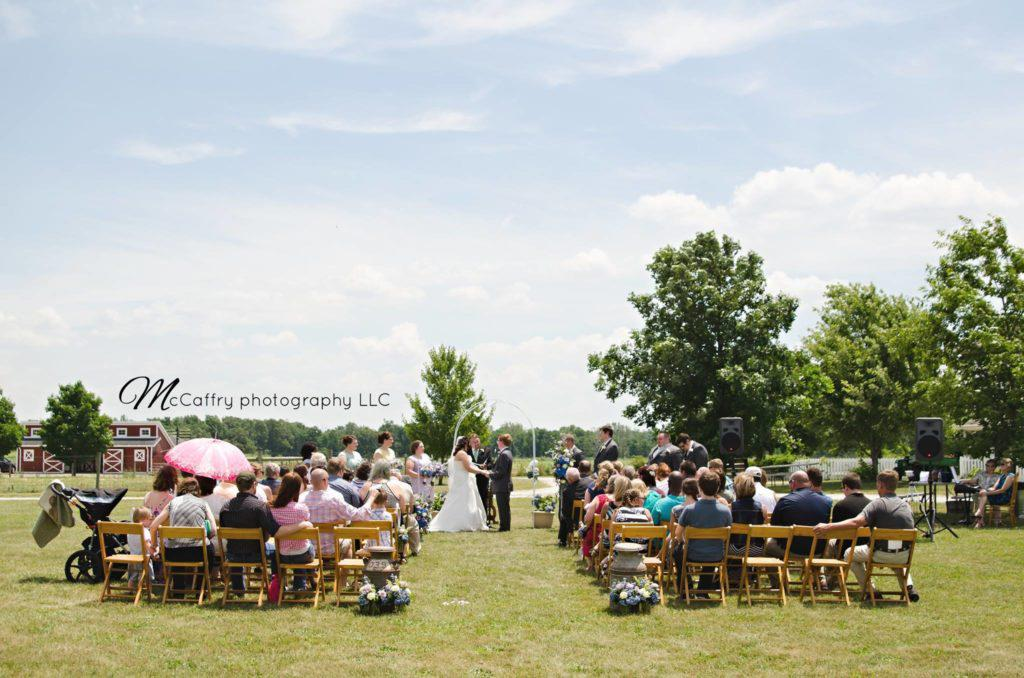 Wedding at the Farm at Prophetstown