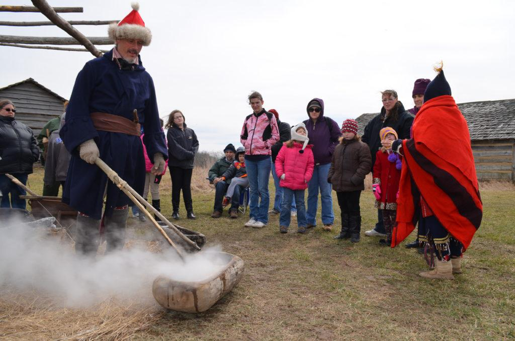 Maple Sugaring Demonstration at Prophetstown