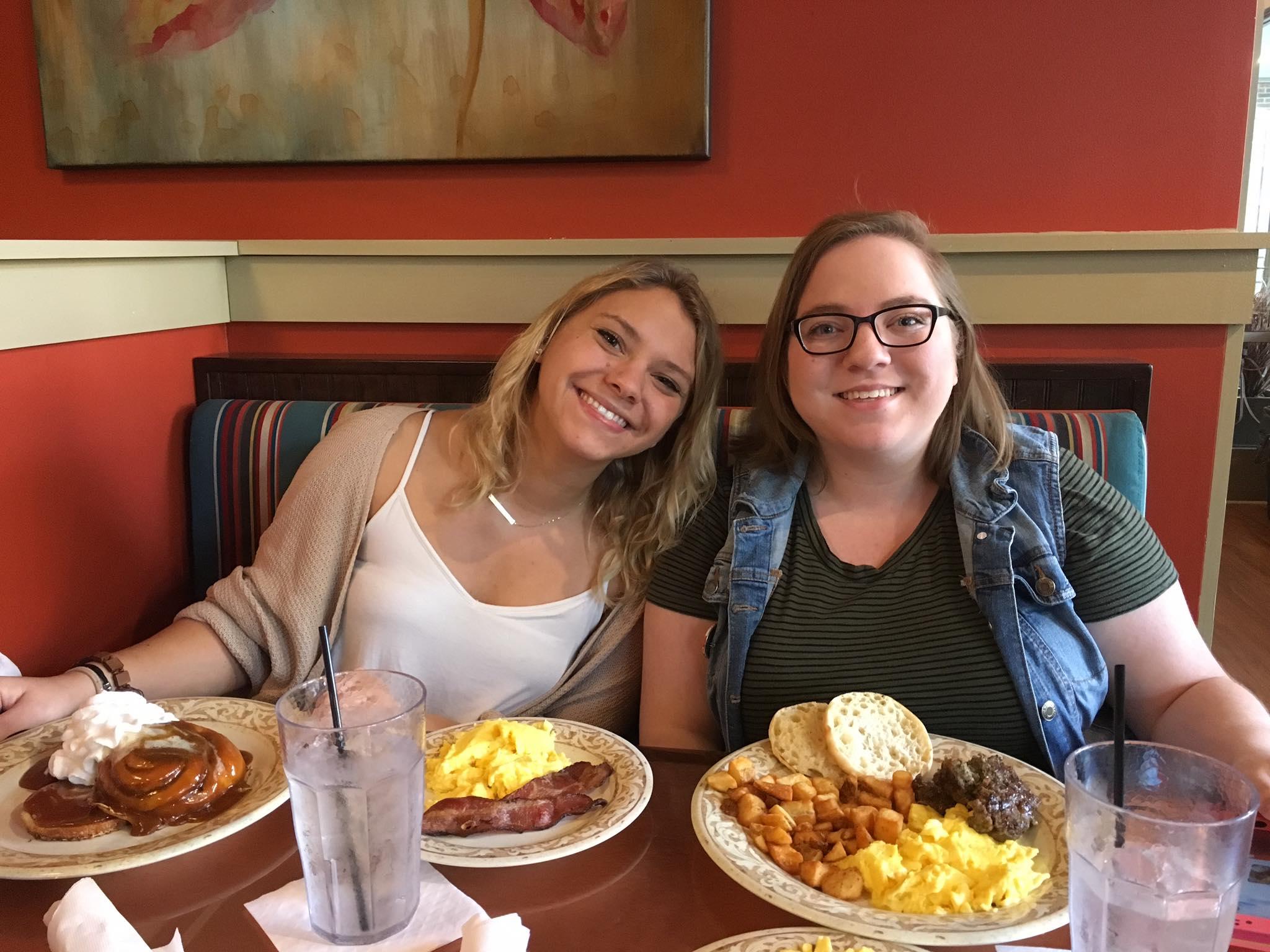 Greetings from Purdue University Students, Emily & Sam! Enjoying Another Broken Egg!