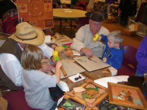 Canal Christmas festival crafts n kids