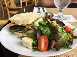 Untuna Salad with side salad