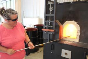 Inspired Fire Sharon using furnace