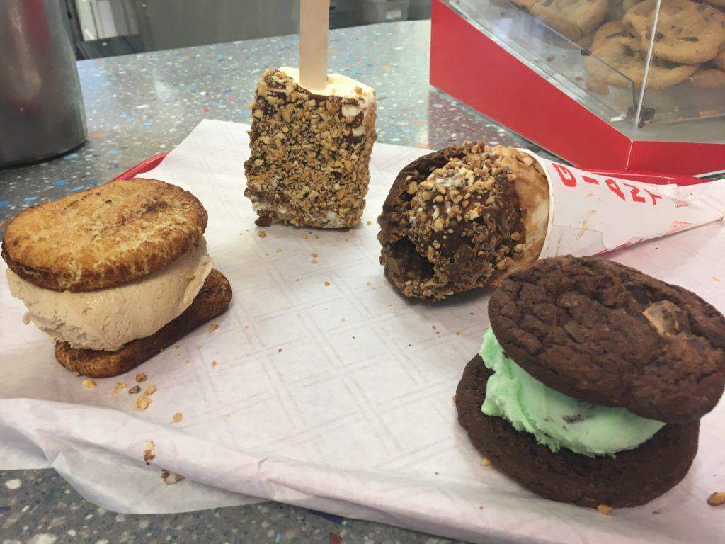 Ice cream novelties at the Igloo!