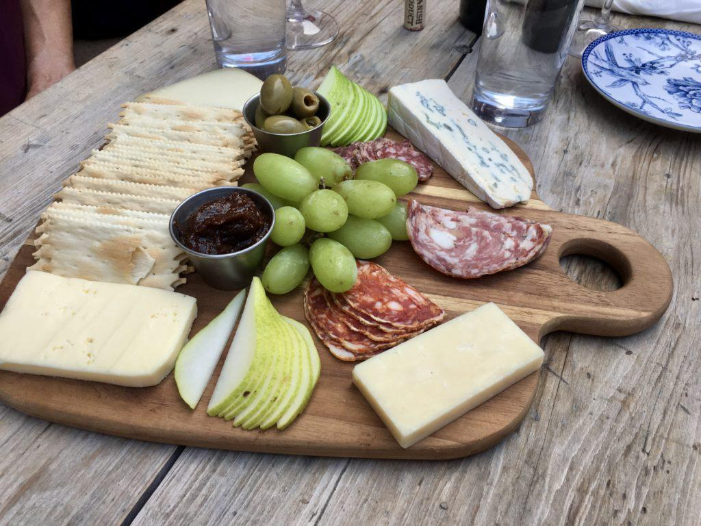 Cellar 422 Cheese and Meat Platter
