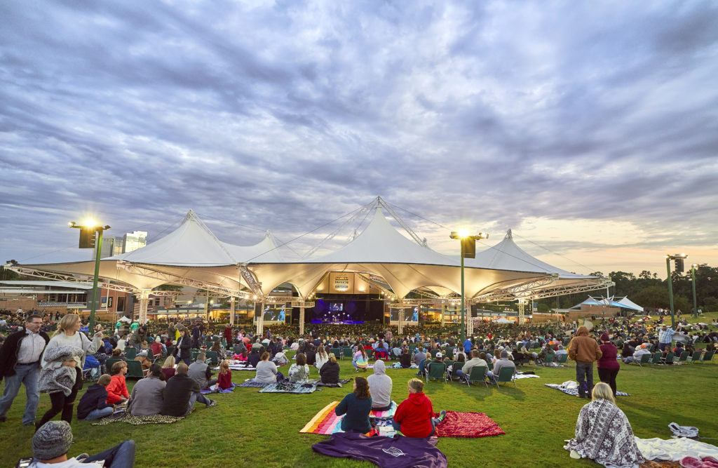 The Cynthia Woods Mitchell Pavilion Concert on the Lawn