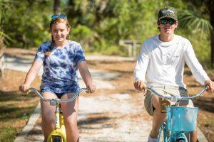 Biking and walking trail