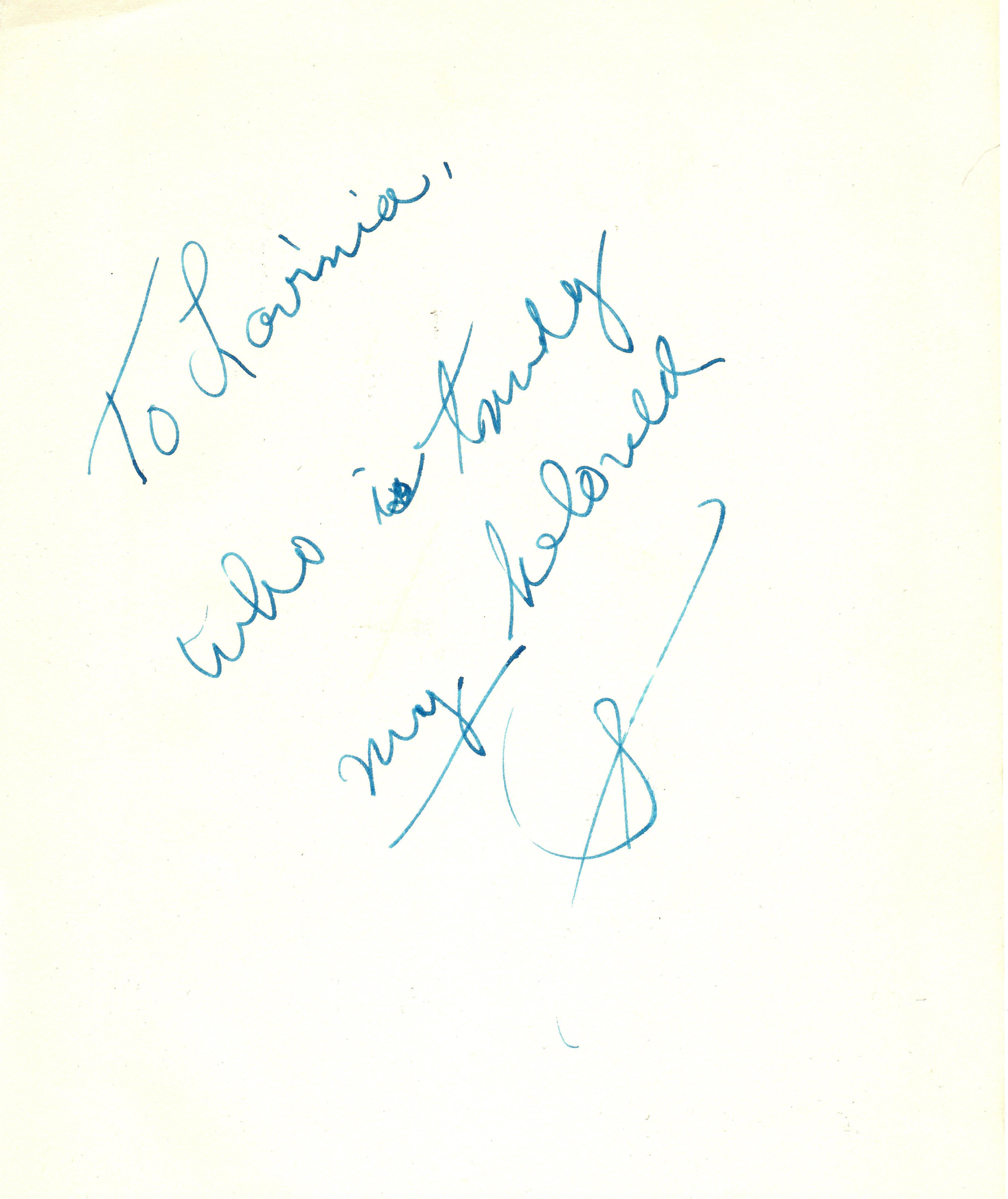 20130200001 - Sinatra Note to Lavinia