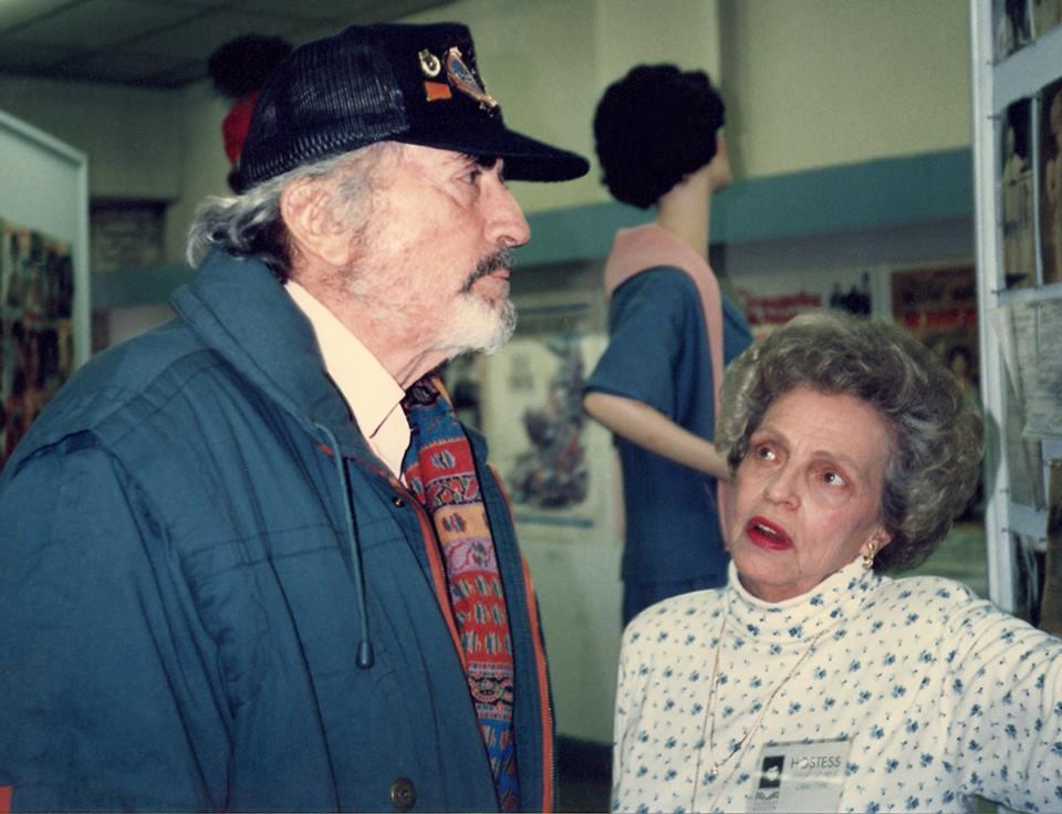 Gregory Peck & Marion Grimes Crayton at Ava Gardner Museum
