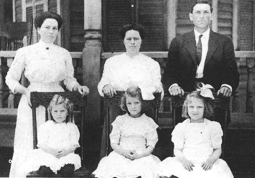 Gardner family c 1910