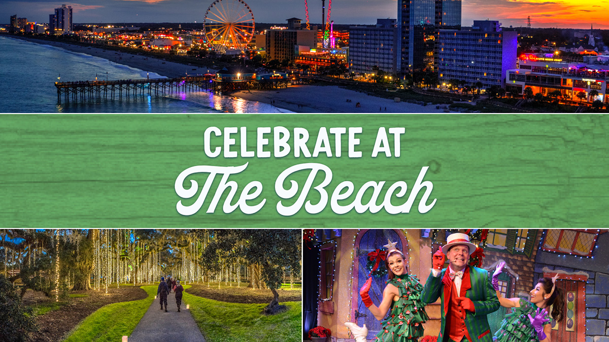 Myrtle Beach Christmas Events 2021 Celebrate The Holiday Season In Myrtle Beach Visit Myrtle Beach Sc