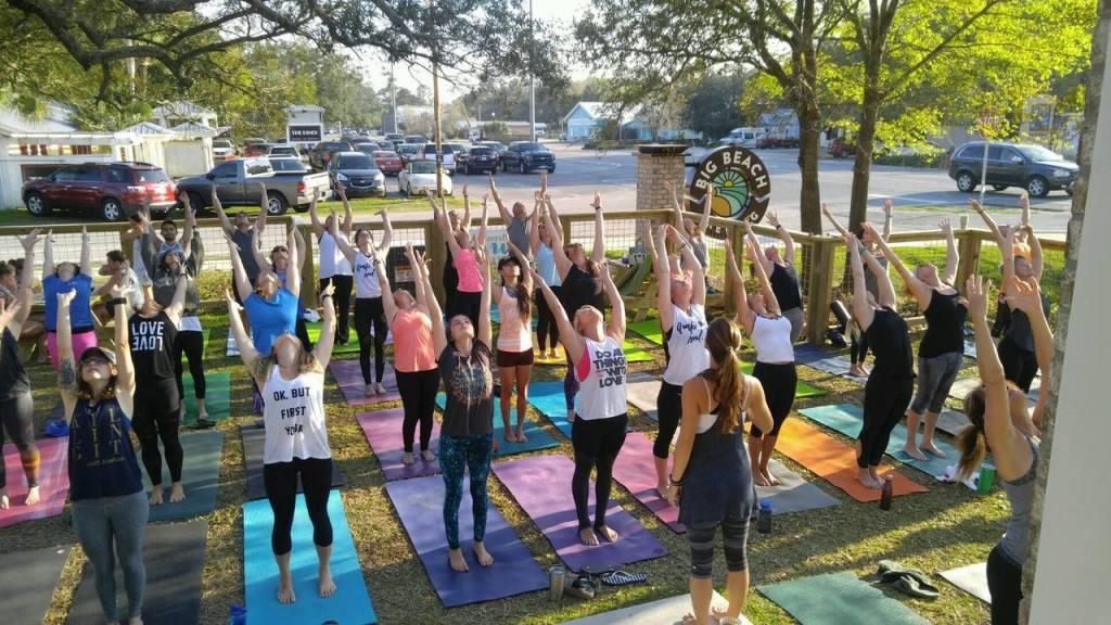 Yoga at Big Beach Benefiting Third Coast Animal Rescue